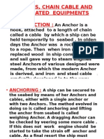 Anchors & Anchor Work