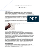 Vermiculite Construction Brochure