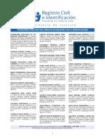 Posesiones Efectivas Extractos 15 ABRIL