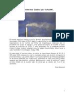 Cumbre Climática, objetivos para el 2050