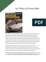 The Big Bang Theory vs Firman Allah