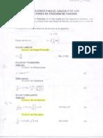Factor de Friccion y Constantes