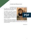 Sólo en Kenia mueren 100 leones cada año