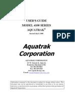 Aquatrak Manual