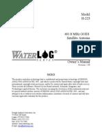 H-223 Yagi Antenna Manual