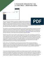 AVG Antivirus 2015, Licencia De Activacion De 1 Ano (trescientos sesenta y cinco Dias) ~ APsSecurity veinte