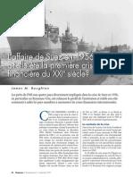 L'affaire de Suez en 1956 a-t-elle été la première crise financière du XXe siècle ?