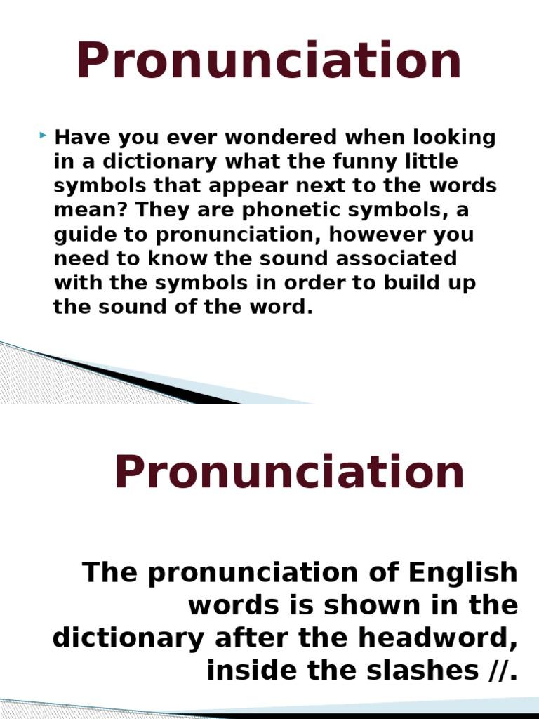 Pronunciationpptx rhyme phonetics buycottarizona