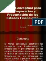 Marco Conceptual Para La Preparación y Presentación De