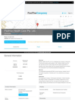 016. Padman Healthcare South Australia revenue $274 million