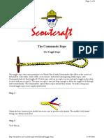 Commando Toggle Rope