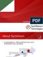 Symbioun Tech Corp Presentation