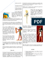 El Nacimiento de Osiris