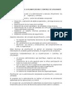 Fundamentos de La Planificacion y Control de Utilidades