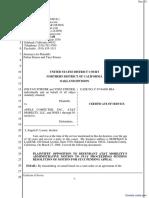 Stiener et al v. Apple, Inc. et al - Document No. 70