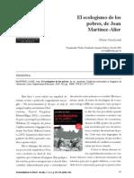 Joan Martinez Ecologismo Dos Pobres