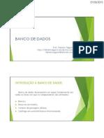 Bd Aula 01 Conceitos de Banco de Dados