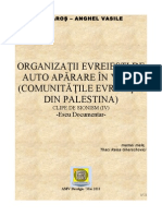 Organizatii Evreiesti de Auto Aparare in Palestina (Yishuv) - Clipe de Sionism IV