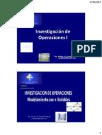 INVESTIGACION DE OPERACIONES-METODO CON N VARIABLES