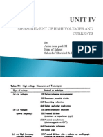 UNIT IV - High Voltage Engineering