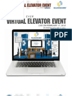 A Special Invitation from KLEEMANN for the first ever Virtual Elevator Event