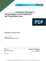 IEEE Auto Reclose