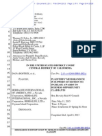 Consolidated Bostick 13APR2015 Plaintiff Motions