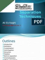 Separation Distillation