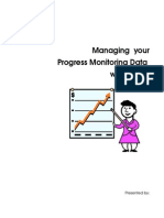 Excel for Progress Monitoring - Users Guide