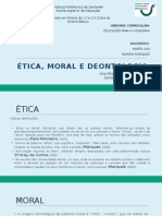 Ética, Moral e Deontologia