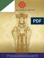 Mazu Alliance Limited Prospectus