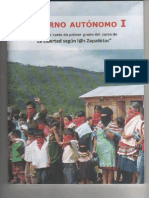 Gobierno Autónomo I EZLN