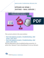 My E-mail appears as spam | Troubleshooting - Mail server | Part 13#17