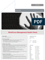 Workforce Management Health Check