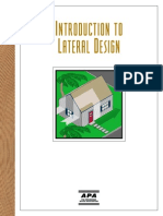APA Introduction to Lateral Design