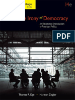 The Irony of Democracy; An Uncommon Introduction to American Politics