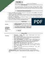 Chaudhari Pavan- Resume