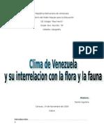 Clasificaciones de Los Climas