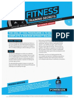 Powerade Fitness Secrets Beginner Runner
