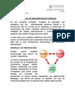Modelos de Prevención de Drogas
