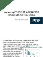 Development of Corporate Bond Market in India