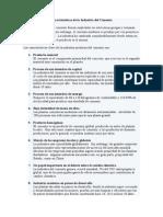 Características de La Industria Del Cemento