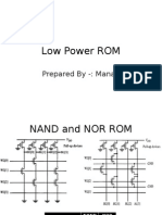 Low Power ROM
