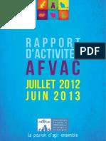 _Rapport Activites 2013