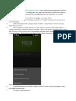 Tutorial Root Xiaomi