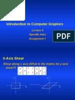 4 OpenGL
