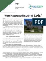 Watt's#50 WattHappened2014