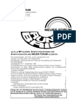 1994-09 NEUES FORUM Leipzig Rundbrief