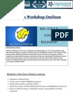 Big Data & Hadoop Workshop Outlines