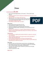Lecture 9 (the Tenor Titans)A